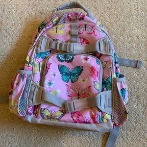 Pottery Barn kids butterfly back pack